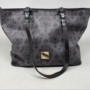 Dooney & Bourke Disney Haunted Mansion Tote